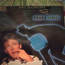 Discos de vinilo: PAUL MCCARTNEY. GIVE MY REGARDS TO BROAD STREET. LP.. Lote 295547448