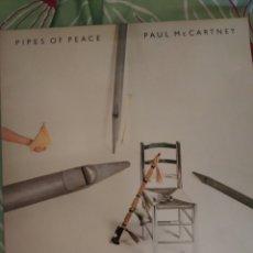 Discos de vinilo: PAUL MCCARTNEY. PIPES OF PEACE. LP.. Lote 295547578