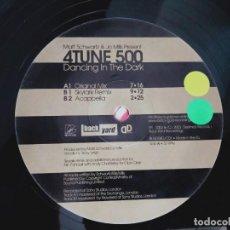 Discos de vinilo: 4TUNE 500 – DANCING IN THE DARK(MIKE MONDAY MIXES)2003 BLACK GOLD– BLGD04DJX03.NUEVO.MINT/GENERICA. Lote 295547638