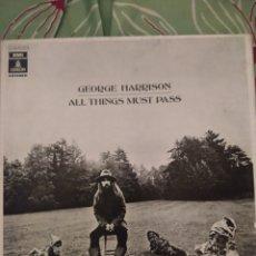 Discos de vinil: GEORGE HARRISON. ALL THINGS MUST PASS. ESTUCHE DE 3 LPS. NO TIENE PÓSTER.. Lote 295549398