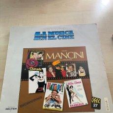 Discos de vinilo: LA MÚSICA EN EL CINE. Lote 295550653