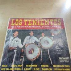 Discos de vinilo: LOS TENIENTES. Lote 295550823