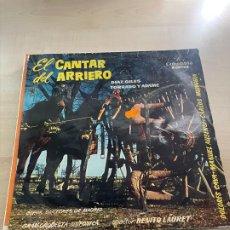 Discos de vinilo: EL CANTAR DEL ARRIERO. Lote 295551158