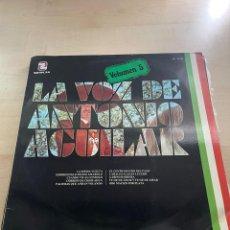 Discos de vinilo: LA VOZ DE ANTONIO AGUILAR. Lote 295551928