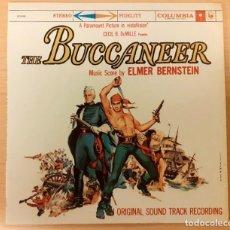 Discos de vinilo: THE BUCCANEER (LOS BUCANEROS) ELMER BERNSTEIN COLUMBIA SPECIAL PRODUCTS COMO NUEVO!!. Lote 295570013