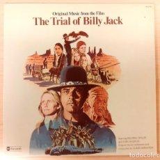 Discos de vinilo: THE TRIAL OF BILLY JACK ELMER BERNSTEIN ABC RECORDS 1974 MUY BUEN ESTADO!!. Lote 295580128