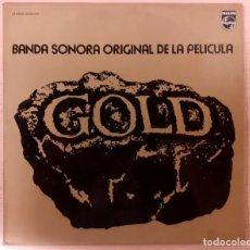 Discos de vinilo: GOLD (ORO) ELMER BERNSTEIN PHILIPS 1974 MUY BUEN ESTADO!!. Lote 295581018