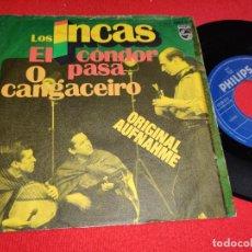 Discos de vinilo: LOS INCAS O CANGACEIRO/EL CONDOR PASA 7'' SINGLE PHILIPS GERMANY ALEMANIA. Lote 295581308