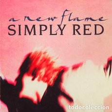 Discos de vinilo: SIMPLY RED, A NEW FLAME- MAXI-SINGLE GERMANY 1989. Lote 295586518