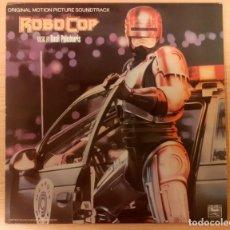 Discos de vinilo: ROBOCOP BASIL POLEDOURIS DISCOS VINILO 1987 RARO Y EN MUY BUEN ESTADO++. Lote 295586538