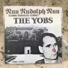 Discos de vinilo: THE YOBS RUN RUDOLPH RUN. NEW OLD STOCK. Lote 295587218