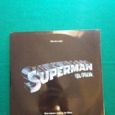 Discos de vinilo: JOHN WILLIAMS - SUPERMAN - EL FILM (BANDA SONORA ORIGINAL) (2XLP, ALBUM). Lote 295588483