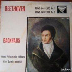 Discos de vinilo: SXL 2178 - BEETHOVEN - PIANO CONCERTI NO.1 & 2 - BACKHAUS - SCHMIDT-ISSERSTEDT. Lote 295589508