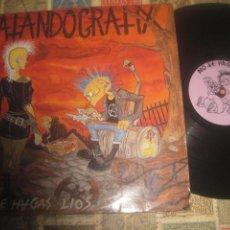 Discos de vinilo: MATANDO GRATIX - NO TE HAGAS LIOS - - POTENCIAL CORE 1992 + LETRAS OG ESPAÑA. Lote 295589698