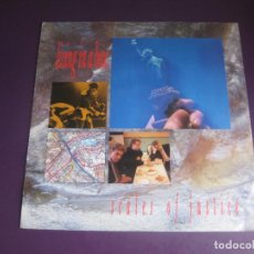 Discos de vinilo: LIVING IN A BOX – SCALES OF JUSTICE - MAXI SINGLE CHRYSALIS 1987 - ELECTRONICA SYNTH POP 80'S. Lote 295589923