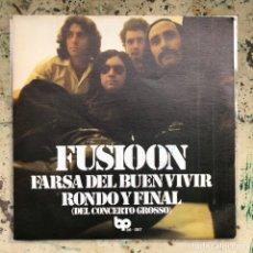 Discos de vinilo: FUSIOON FARSA DEL BUEN VIVIR. NEW OLD STOCK. Lote 295591013