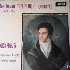 """Discos de vinilo: SXL 2179 - BEETHOVEN - """"EMPEROR"""" CONCERTO Nº5 IN E FLAT - BACKHAUS - SCHMIDT-ISSERSTEDT.. Lote 295591058"""