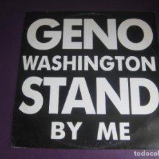 Discos de vinilo: GENO WASHINGTON & THE RAM JAM STARS (FEATURING) LANCE ELLINGTON – STAND BY ME - MAXI SINGLE - FUNK. Lote 295593123
