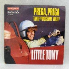 Discos de vinilo: SINGLE LITTLE TONY - PREGA, PREGA - V FESTIVAL DE MALLORCA - ESPAÑA - AÑO 1978. Lote 295595028