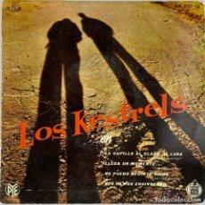 Discos de vinilo: EP. LOS KESTRELS EN LA CAPILLA AL CLARO DE LUNA +3. (VG+/NM-). Lote 295606953
