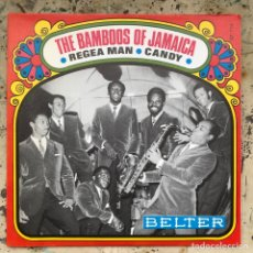 Discos de vinilo: THE BAMBOOS OF JAMAICA. REGGAE MAN. NEW OLD STOCK. Lote 295607088