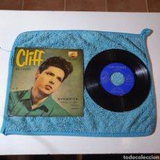 Discos de vinilo: MS-1. CLIFF RICHARD - DYNAMITE + 3 TEMAS - LA VOZ DE SU AMO 7EPL 13.342 ESPAÑA 1959.. Lote 295607558