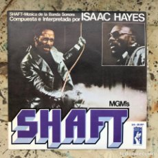 Discos de vinilo: ISAAC HAYES. SHAFT. NEW OLD STOCK. Lote 295607753