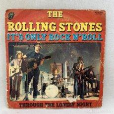 Discos de vinilo: SINGLE THE ROLLING STONES - IT'S ONLY ROCK N' ROLL ESPAÑA - AÑO 1974 - SOLO PORTADA - NO SINGLE. Lote 295608158