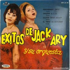 Discos de vinilo: EP. EXITOS DE JACK ARY Y SU ORQUESTA. (VG+/NM-). Lote 295608628