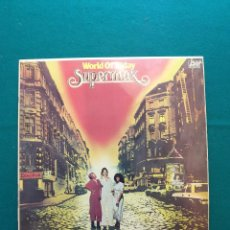 Discos de vinilo: LP VINILO SUPERMAX WORLD OF TODAY EDICION ESPAÑOLA. Lote 295610063