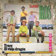 Discos de vinilo: LOS ROS TRACY/EL VIEJO DRAGÓN. NEW OLD STOCK. Lote 295610453