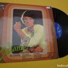 Discos de vinilo: LP ADAMO - EN ESPAÑOL - SE FELIZ ROSA - SPAIN PRESS - 1 J 062-23.350 (EX-/EX-) 4. Lote 295611458