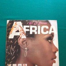 Discos de vinilo: KEY OF DREAMS - AFRICA / SYNTHAJOY - MAXI.. Lote 295613228