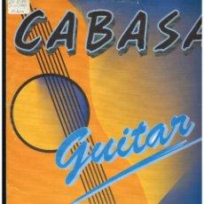 Discos de vinilo: CABASA - GUITAR - MAXI SINGLE 1994 - ED. ESPAÑA. Lote 295613473