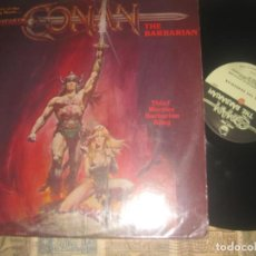Discos de vinilo: CONAN THE BARBARIAN 1982 PETER PAN RECORDS ?OG USA STORY IN DIALOGUES OF THE MOVIE. Lote 295616608