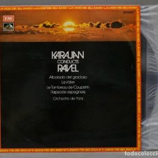 "Discos de vinilo: LP. KARAJAN. LA VALSE. ALBORADA DEL GRACIOSO NO. 4 OF ""MIROIRS"". RAVEL. Lote 295621048"