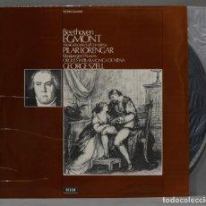 Discos de vinilo: LP. LORENGAR. SZELL. BEETHOVEN EGMONT. Lote 295623228