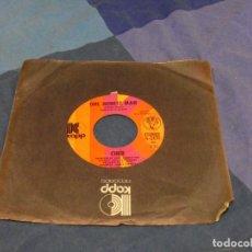 Discos de vinilo: BOXX129 DISCO 7 PULGADAS USA ESTADO DECENTE CHER LIVING IN A HOUSE DIVIDED / ONE HONEST MAN. Lote 295624758