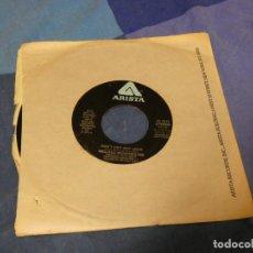 Discos de vinilo: BOXX129 DISCO 7 PULGADAS USA ESTADO DECENTE MELISSA MANCHESTER WE HAD THIS TIME / DON'T CRY OUT LOUD. Lote 295627273