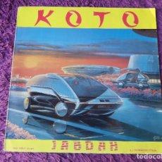 Discos de vinilo: KOTO – JABDAH, VINYL MAXI-SINGLE 1986 GERMANY MEMIX 047. Lote 295627643