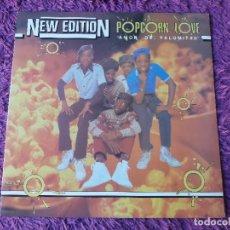"Discos de vinilo: NEW EDITION – POPCORN LOVE, VINYL 12"", EP 1983 SPAIN 9-29 014. Lote 295631163"