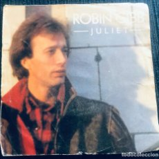 Discos de vinilo: 'JULIET', DE ROBIN GIBB DE BEE GEES. POP-ROCK. SINGLE VINILO 2 TEMAS. POLYDOR. 1983.. Lote 295631693