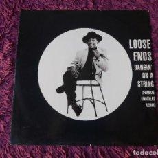 "Discos de vinilo: LOOSE ENDS – HANGIN' ON A STRING, VINYL 12"" 1992 UK TENX 406. Lote 295631983"