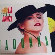Discos de vinilo: MADONNA-MAXI LA ISLA BONITA-AÑO 1987,BUEN ESTADO. Lote 295632748