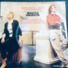 Discos de vinilo: 'SEPARATE LIVES', DE PHIL COLLINS Y MARILYN MARTIN. POP-ROCK. SINGLE VINILO 2 TEMAS. ATLANTIC. 1985.. Lote 295633588