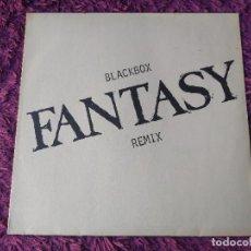 "Discos de vinilo: BLACK BOX – FANTASY (REMIX), VINYL 12"" 1990 GERMANY 879 305-1. Lote 295634173"