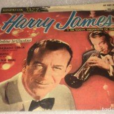Discos de vinilo: EP HARRY JAMES Y SU NUEVA ORQUESTA DE SWING - MEDIAS BRILLANTES Y OTROS TEMAS -PEDIDO MINIMO 7€K. Lote 295637463