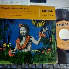 Discos de vinilo: DANNY STEWART EP HAWAIIAN MEMORIAS VOL.2 PAGAN LOVE SONG + 3 ESPAÑA 1959. Lote 295638563