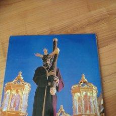 Discos de vinilo: MARCHAS DE SEMANA SANTA VIRGEN DE LAS ANGUSTIAS LOS GITANOS LP. Lote 295646668