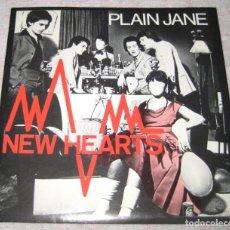Discos de vinilo: NEW HEARTS - PLAIN JANE - CBS 1978 - UK - EX!. Lote 295688938